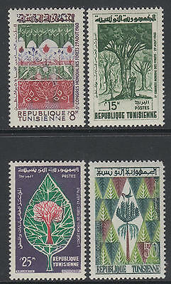 XG-T096 TUNISIA IND - Nature, 1960 Forests Congress MNH Set