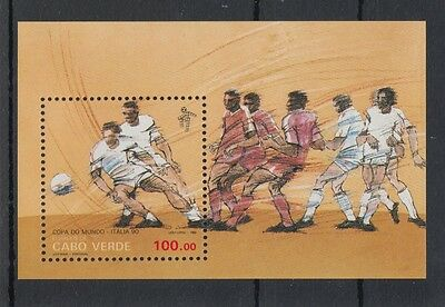 XG-T185 CAPE VERDE IND - Football, 1990 Italy '90 World Cup MNH Sheet
