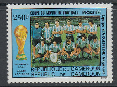 XG-T261 CAMEROON IND - Football, 1986 Mexico '86 World Cup Winners MNH Set