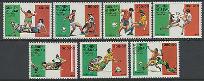 XG-T268 GUINEA-BISSAU - Football, 1990 Italy '90 World Cup MNH Set