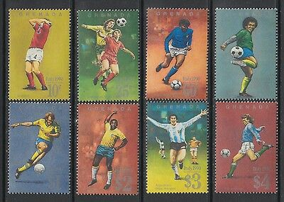 XG-T274 GRENADA IND - Football, 1990 Italy '90 World Cup MNH Set