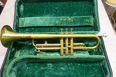B&M Champion GDR Trumpet/Hard Case/Plays but needs attention