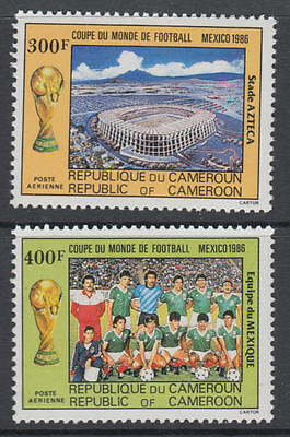 XG-T344 CAMEROON IND - Football, 1986 Mexico '86 World Cup MNH Set