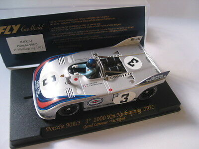 Fly C61 Porsche 908/3 Nurburgring 1971 Martini Racing   Mint Boxed Collectable