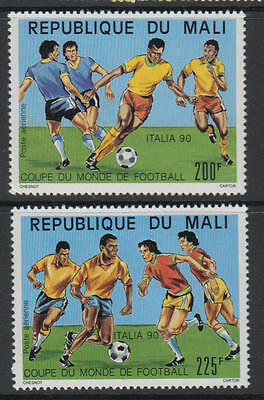 XG-T354 MALI IND - Football, 1990 Italy '90 World Cup MNH Set