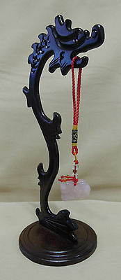 Wooden Stand Holder Pendant Stand/Shelf Display Carved Chinese Dragon