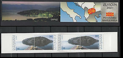 XG-T790 MACEDONIA - Europa Cept, 2001 Water, Natural Resource MNH Booklet