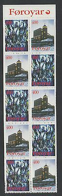 XG-T944 FAROE - Christmas, 1995 Architecture MNH Booklet