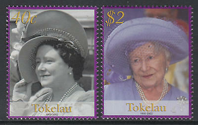 XG-T988 TOKELAU ISLANDS - Royalty, 2002 Queen Mother MNH Set
