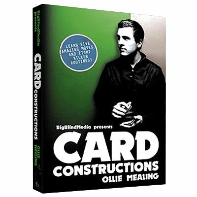 Card Constructions by Ollie Mealing - Card Magic DVD