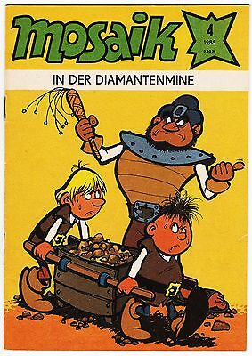 Die ABRAFAXE Original Mosaik 4/1985, In der Diamantenmine, Note 2