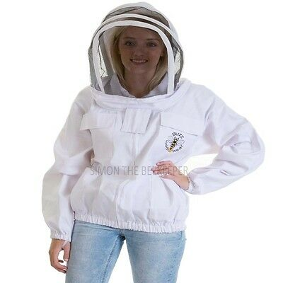 [FRANÇAIS] Buzz Beekeeping Bee Jacket with fencing veil and front zip - 3XL
