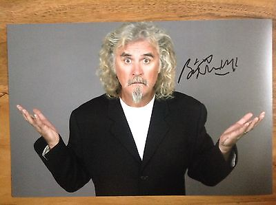 Billy Connolly Signed Autograph 12x8 Comedy Legend Film Star Actor
