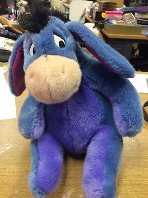Eeyore With Velcro Tail Cuddly Toy