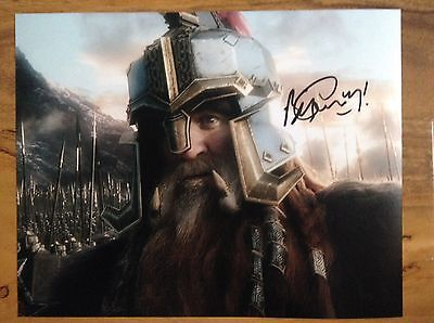 Billy Connolly Signed Autograph 10x8 Comedy Legend Film Star Actor The Hobbit