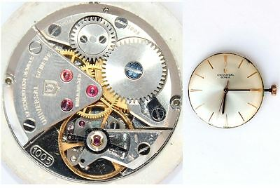 UNIVERSAL GENEVE 1005 original ladies watch movement working   (4809)