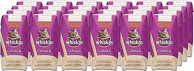 WHISKAS CATMILK - 24 pack - 200 ml each - 98% LACTOSE REDUCED - FREE SHIPPING