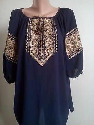 Ukrainian embroidery, embroidered blouse, XS-4XL, Ukraine