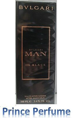 BULGARI MAN IN BLACK AFTER SHAVE BALM - 100 ml