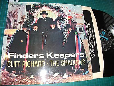 CLIFF RICHARD & THE SHADOWS - FINDERS KEEPERS Vinyl Lp SX 6079 Mono VG+