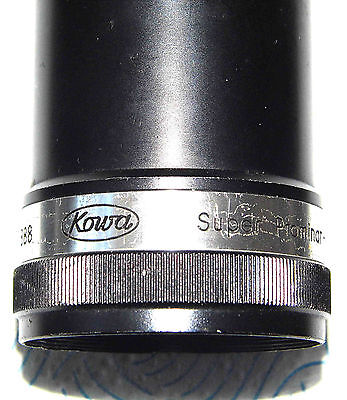 KOWA Super Prominar 75mm f1.8 16mm Projector Lens * Made In Japan No. 130888