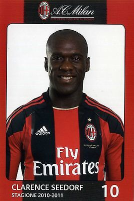 Clarence Seedorf - AC Mailand (2010-2011, Niederlande, Real Madrid, Inter)
