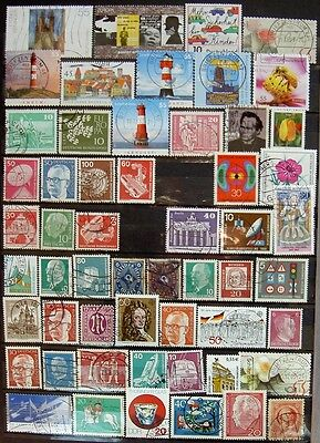 55 Timbres Allemagne Lot 1