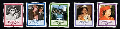 Jamaica 1986 Royal Queen's 60th Birthday - unmounted mint