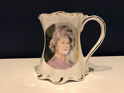 St George Commemorative Mug HM The Queen Mother 90th Birthday 1990