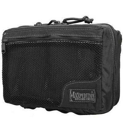Maxpedition 0329B Lightweight Combat First-Aid Pack - Black Ballistic Nylon