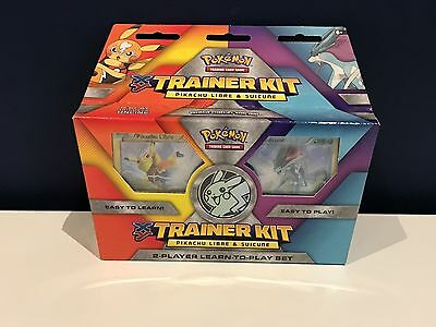 Pokemon Trainer Kit Pikachu Libre And Suicune - Trading Card Game