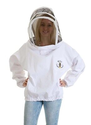 [FRANÇAIS] Buzz Beekeepers Bee Tunic with Fencing Veil - 3XL