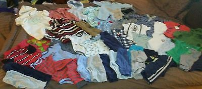 Huge 44 PC lot of baby boys winter and spring clothing 3-6m Carter's BabyGap