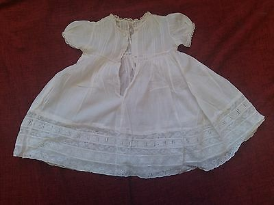 Antique/vintage Silk? Christening Dress