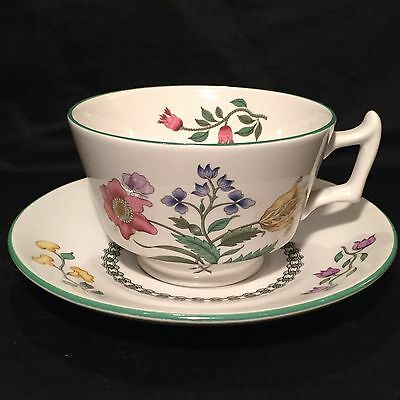 "Retired SPODE Summer Palace Imperialware ""London Shape"" Tea Cup & Saucer England"