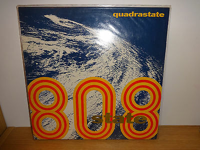 "808 State Quatrastate Pacific State 12"" Vinyl Single Creed 1989"