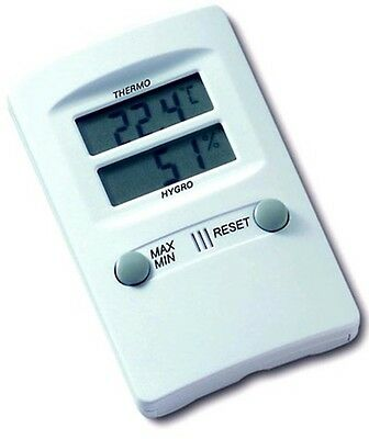 TFA HYGRO THERMOMETER (HUMIDITY & TEMP) Memorizes & Stores Highest/Lowest
