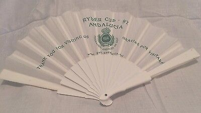 Commemorative Ryder Cup 1997 Hand Fan