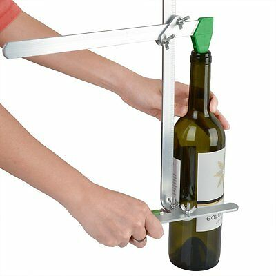 Glass Bottle Cutter Recycler Tool Kit Stained Jar Wine Beer Cutting Machine DIY