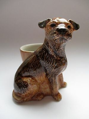 Border Terrier Egg Cup By Quail Pottery Gift