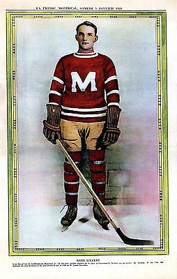 La Presse Montreal January 5th 1929    Babe Siebert - Montreal Maroons