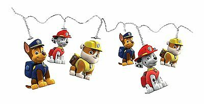 Childrens Paw Patrol Night Light String Lights - Battery Powered
