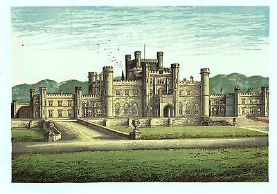 Lowther Castle, Near Clifton, Westmorland - Seat of the Earl of Lonsdale  c1865