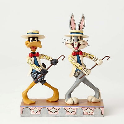 Jim Shore Skulptur - LOONEY TUNES - Bugs Bunny & Daffy - Enesco Figur 4055775