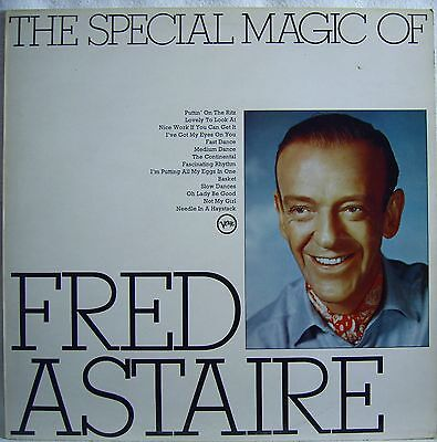Fred Astaire   The Special Magic Of   (1952)  UK Vinyl LP 1974   Verve MONO