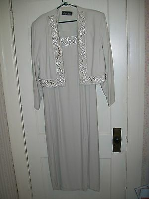 Jaclyn Hart Mother of the Bride Dress -Size 16 -52 Inches Long - Petite Length