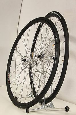 Ambrosio Single speed/Fixed/Track wheelset wheels NEW with tyres