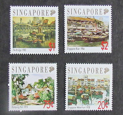 Singapore Postage Stamps Set of mint stamps, Views from the City