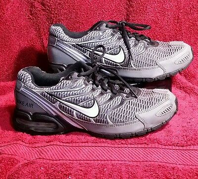 Nike Max Air Torch 4 Running Athletic Shoes Sneakers Men Size 7 Grey Black White