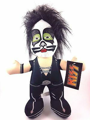Peter Criss Catman Kiss Rock Band Plush Doll By Sugar Loaf